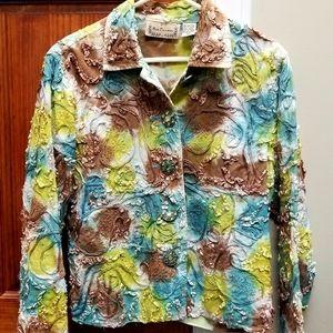 NEW DIRECTION Womens Jacket Beautiful Sz Medium